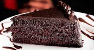 Postre de chocolate para enamorados