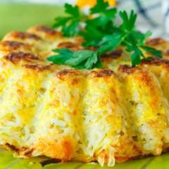 Tortilla de arroz, rápida y riquísima