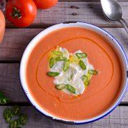 Sandía, la fruta del verano: Te presentamos un gazpacho rico y original para sorprender en una cena informal