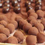 Trufas de chocolate, facilísimas