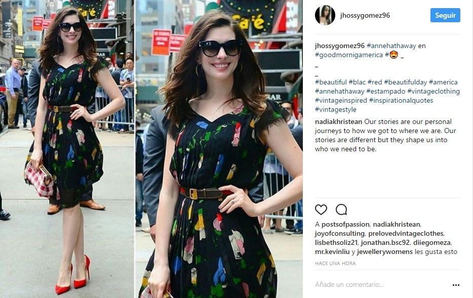 La actriz asegura que busca ser más sustentable con sus elecciones de moda